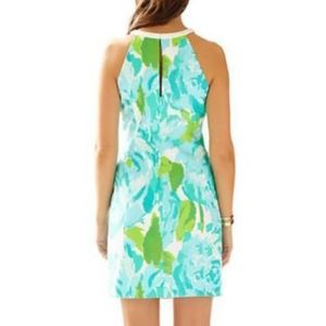 cf78c7196934f5 Lilly Pulitzer Dresses - Lilly Pulitzer Blue First Impressions Pearl Dress